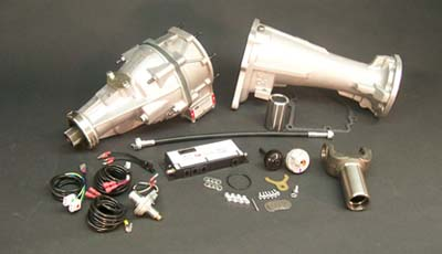 "3DFS40A - Automatic 3-Speed C-4 13"" Tailhousing"