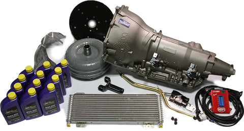 GM 4L80E Performance Transmission Pkg for LS engines (Up to 650 lb-ft of Torque)