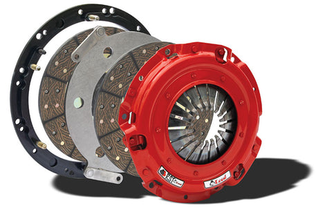 "McLeod Racing RST Street Twin Clutch Kit w/ Aluminum Flywheel 6 Bolt LS Motor (9-11/16"" x 1-1/8"" x 26 Spline)"