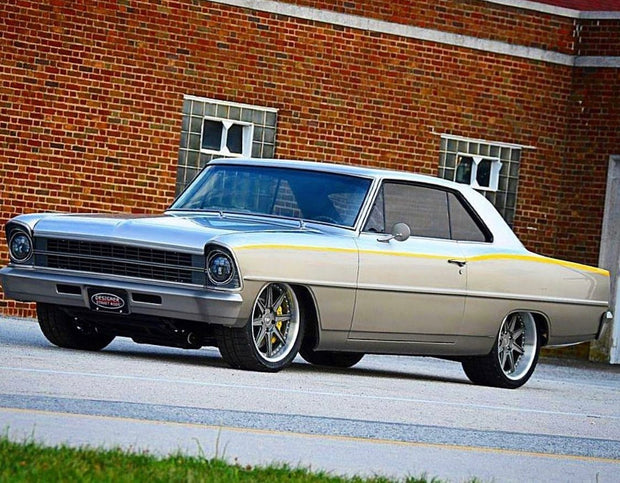 62-67 Nova with LS/LT engine and Tremec T56 Magnum 6-Speed