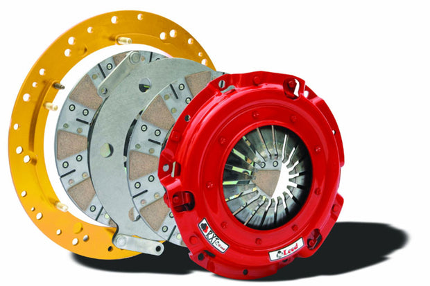 "McLeod Racing RXT Street Twin Clutch Kit w/ Sprung Hub & Base Plate (1-1/8"" x 10 Spline) Modular"