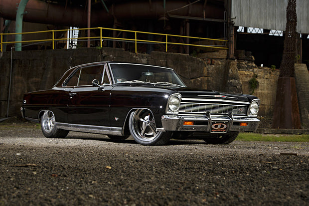 62-67 Nova with SB or BBC engine and Tremec T56 Magnum 6 Speed