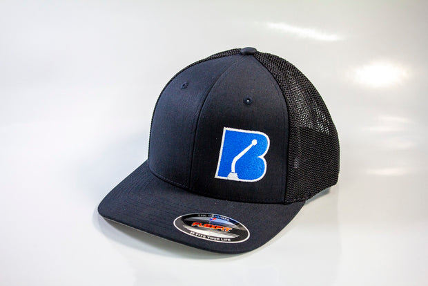 Bowler Trucker Mesh Hat Dark Navy/Black
