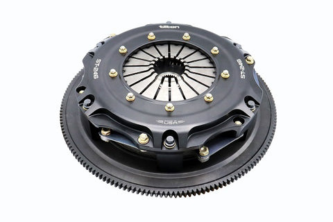 Tilton ST-246 twin disc clutch for 8-bolt crank LS engines up to 850 lb./ft. engine torque