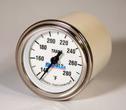 Analog transmission temperature gauge