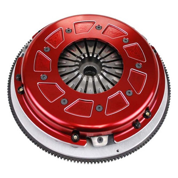 RAM Pro Street Dual disc Clutch for GM Small Block engine with 1pc rear main seal and externally balanced up to 1100 lb./ft. torque