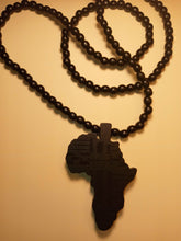 Load image into Gallery viewer, THE BLACK CONTINENT AFRAKA MEDALLION NECKLACE