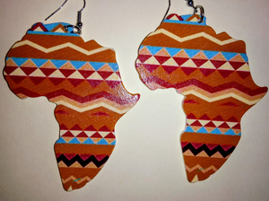 MOTHERLAND WOODEN EARRINGS