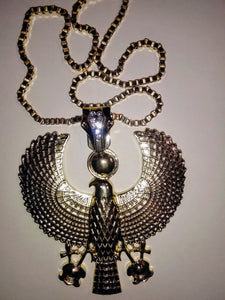 KING HERU MEDALLION & NECKLACE