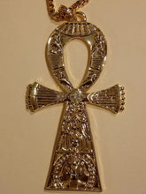 Load image into Gallery viewer, KEY OF ETERNAL LIFE-GOLD ANKH NECKLACE