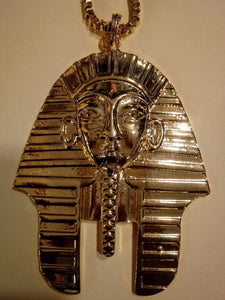 KING TUT HEAVY MENTAL MEDALLION NECKLACE