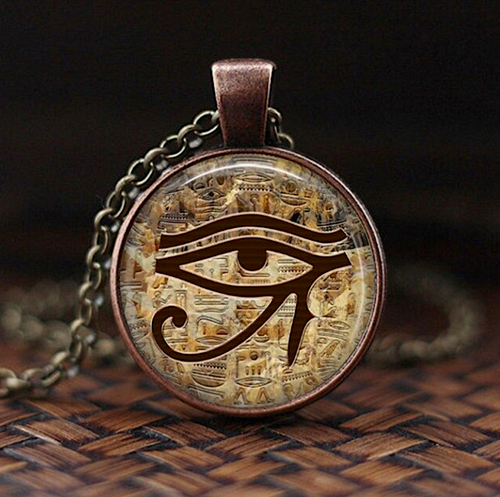 ALL SEEING EYE OF HERU NECKLACE