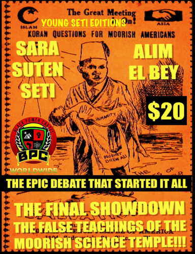 THE FINAL SHOWDOWN!!! SETI VS ALIM EL BEY 2-DISCS