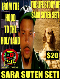 FROM THE HOOD 2 THE HOLYLAND!! THE LIFE STORY OF SARA SUTEN SETI 2-DISCS