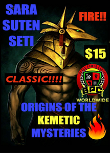 ORIGINS OF THE KEMETIC MYSTERIES!!