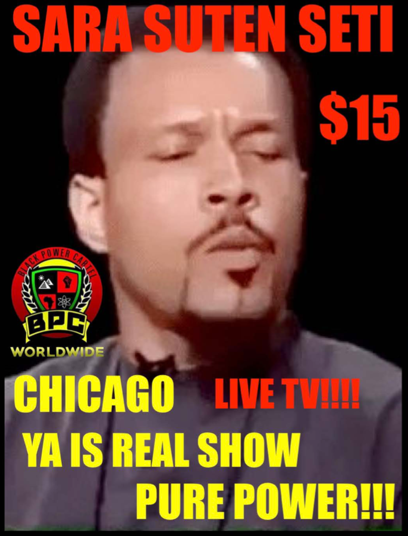 GENERAL SETI LIVE IN CHICAGO!! THE YA IS REAL SHOW