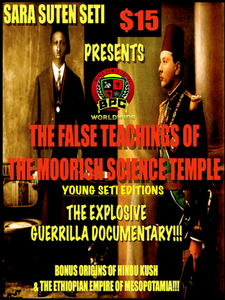 FALSE TEACHINGS OF THE MOORISH SCIENCE TEMPLE