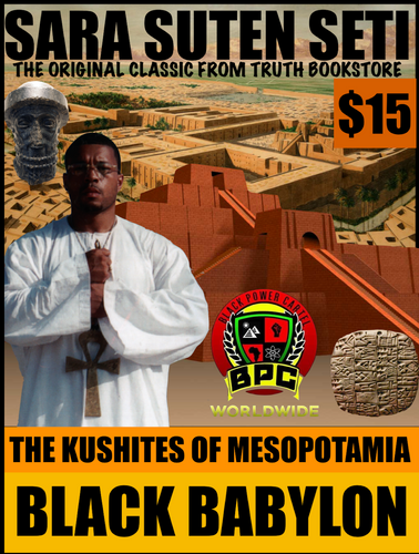 KUSHITES OF MESOPOTAMIA!! BLACK BABYLON