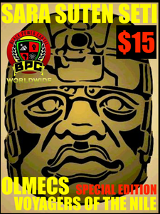 OLMEC VOYAGERS OF THE NILE-SPECIAL EDITION