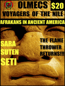 OLMECS VOYAGERS OF THE NILE!!