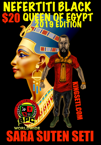 NEFERTITI BLACK QUEEN OF EGYPT!! 2019 EDITION