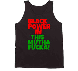 BLACK POWER IN THIS MUTHA!