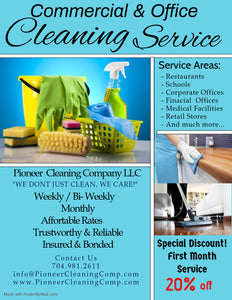 Commercial/ Business Cleaning Booking