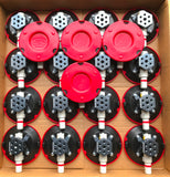4.5in Suction Cups with Rigging Block, G-Force grips.com