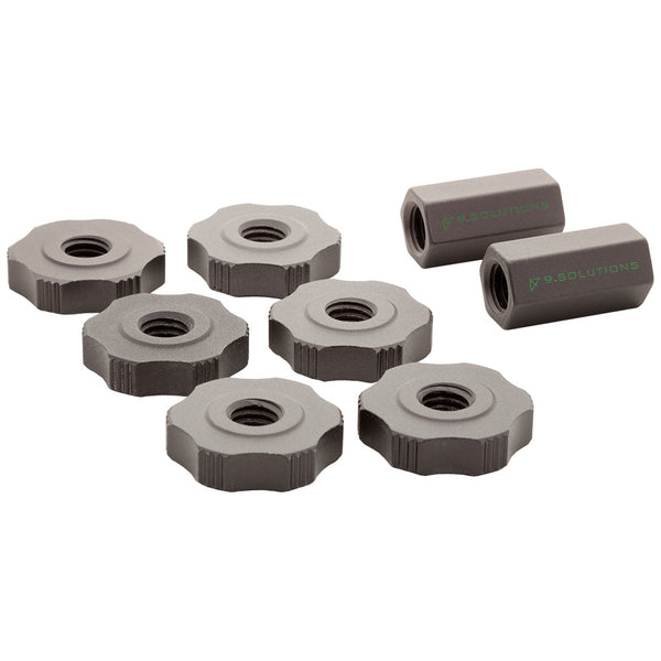 3/8 Finger Nut Connecting Kit - G-Force Grips