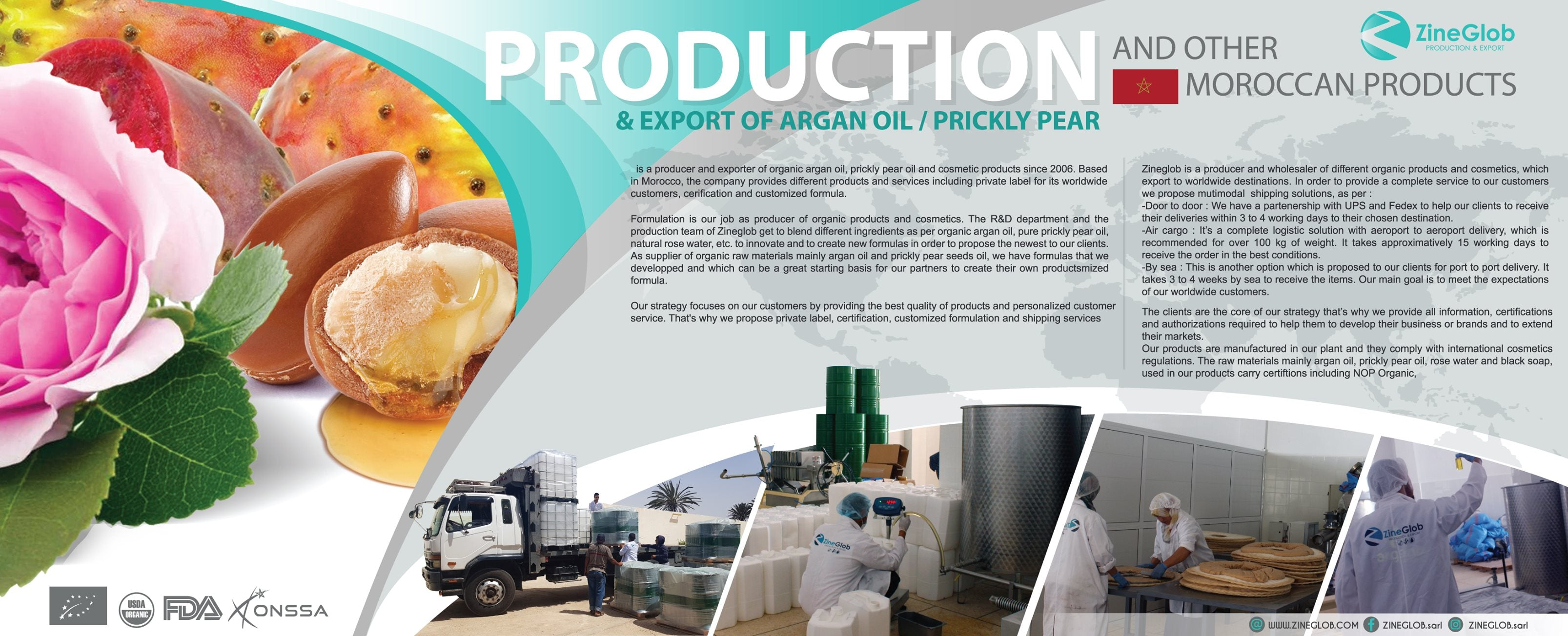 Moroccan argan oil producer