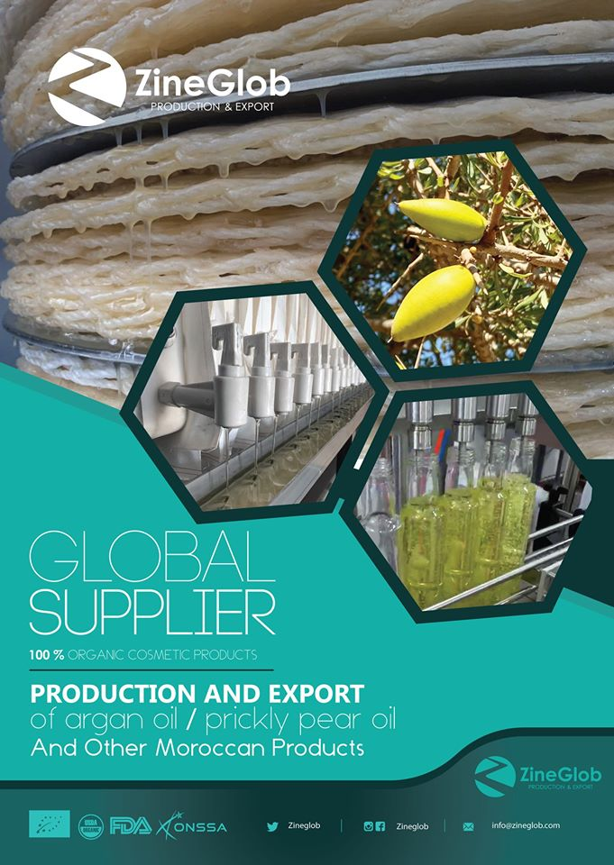 GLOBAL SUPPLIER, PRODUCTION AND EXPORT OF ARGAN OIL AND PRICKLY PEAR OIL