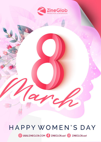 Happy Women's Day - 8 March