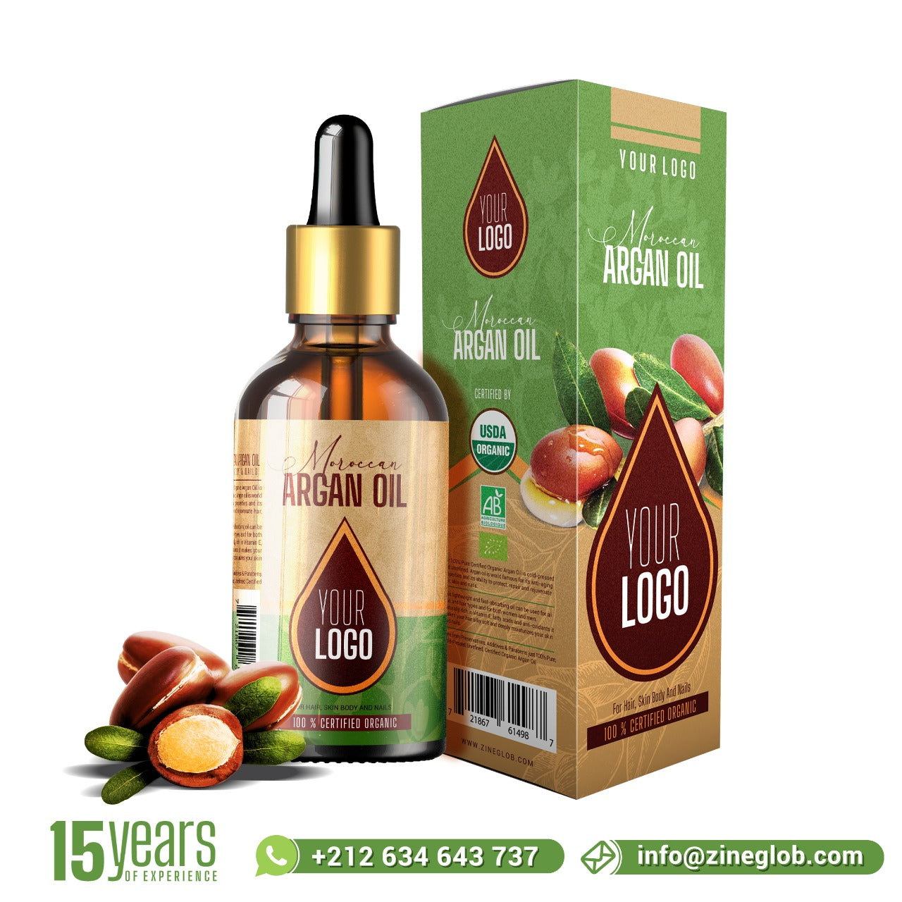 FOUR STEPS TO CREATING YOUR OWN BRAND ARGAN OIL