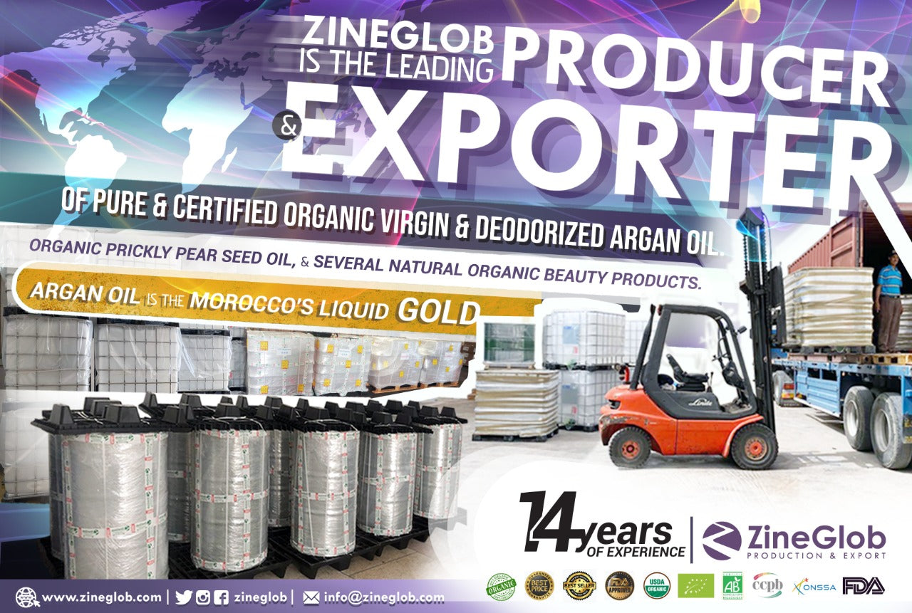 leading producer and exporter Argan oil and prickly pear seed oil