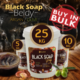 BLACK SOAP EXTRA WITH ARGAN OIL -  ZINEGLOB