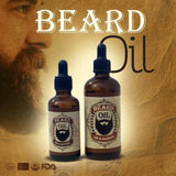 Morocco Beard Argan Oil - ZINEGLOB