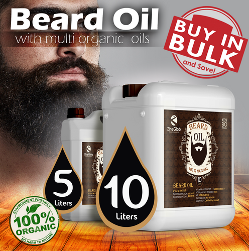 BEARD OIL OF ARGAN -  ZINEGLOB