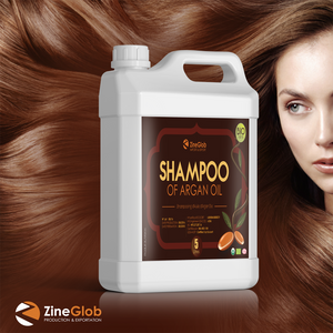 SHAMPOO OF ARGAN OIL -  ZINEGLOB