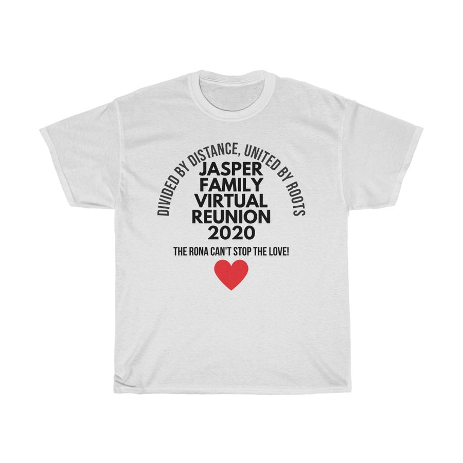 Jasper Family Reunion 2020 (Unisex Fit T-shirt in 4XL & 5XL Only)