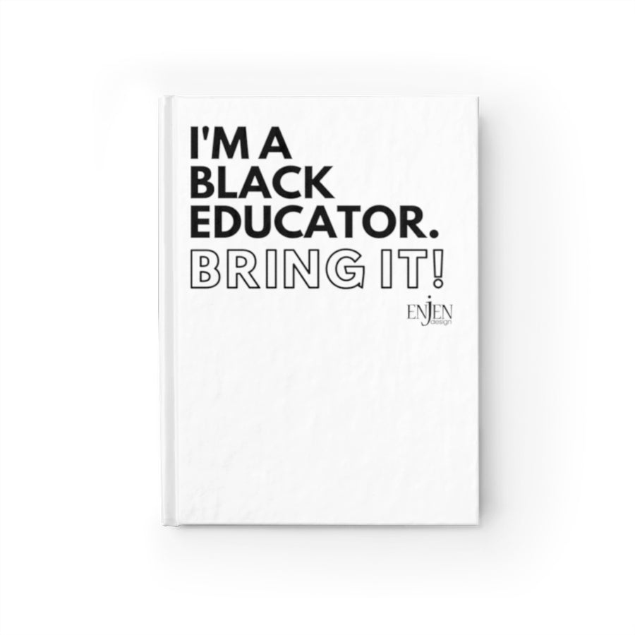Black Educator (White Journal)