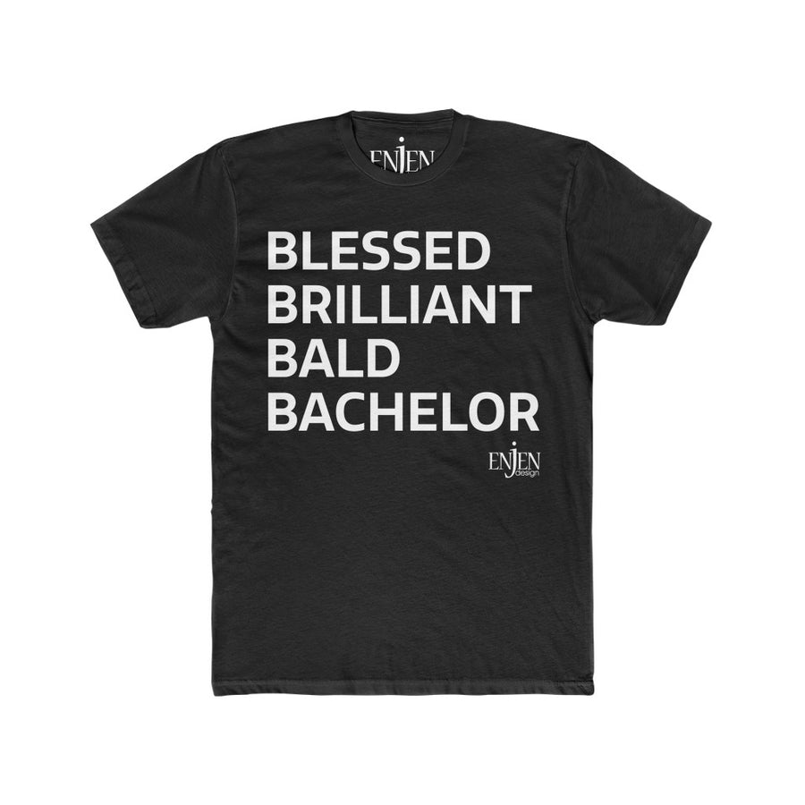 BALD BACHELOR (UNISEX FIT T-SHIRT!)-T-Shirt-ENJEN DESIGN