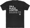 Black Lawyer (UNISEX FIT T-SHIRT!)-T-Shirt-ENJEN DESIGN