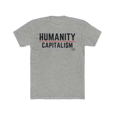 Humanity over Capitalism (UNISEX FIT T-SHIRT)-T-Shirt-ENJEN DESIGN