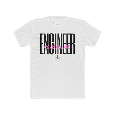 Call Me Ms. Engineer (UNISEX FIT T-SHIRT)-T-Shirt-ENJEN DESIGN