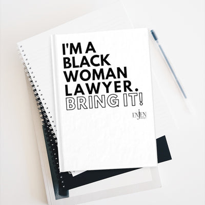 Black Woman Lawyer (White Journal)