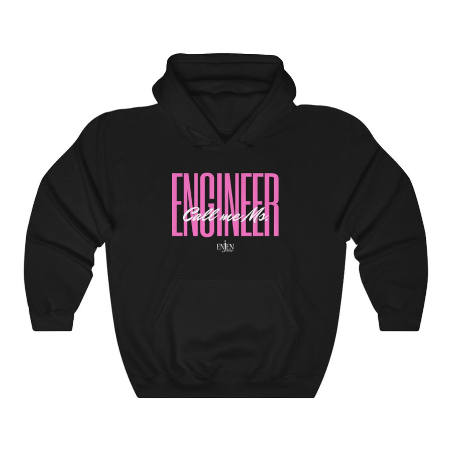 Call Me Ms. Engineer (UNISEX HOODIE)-Hoodie-ENJEN DESIGN