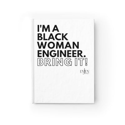 Black Woman Engineer (White Journal)