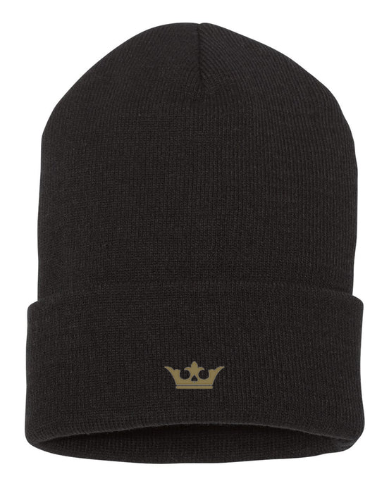 Vegas Royalty Fall 2020 Crown Cuffed Beanie