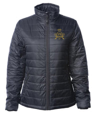 "Vegas Royalty ""Throne"" Women's Puffy Jacket"