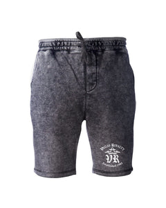 Vegas Royalty Fall 2020 OG Logo Mineral Wash Unisex Shorts